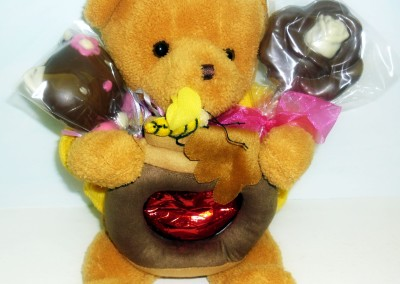 Conjunto Urso + Chocolates